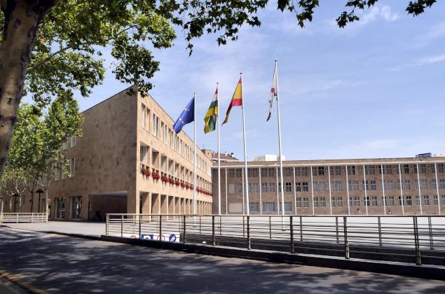 Ayuntamiento_de_Logroño. Foto Wikemedia Commons (Jinus)