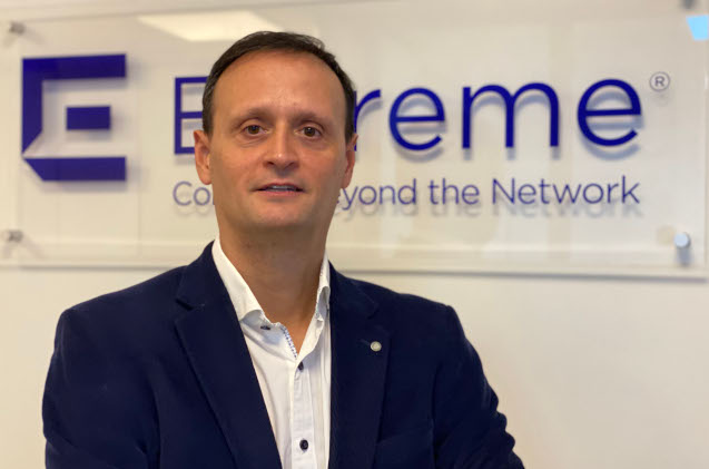 Javier Magro, director de canal de Extreme Networks en España.