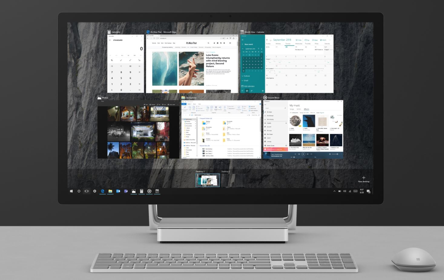Virtual desktop (Jeremy Bowen, Creative Commons).