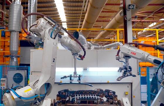 Fábrica conectada 5G en Barcelona.