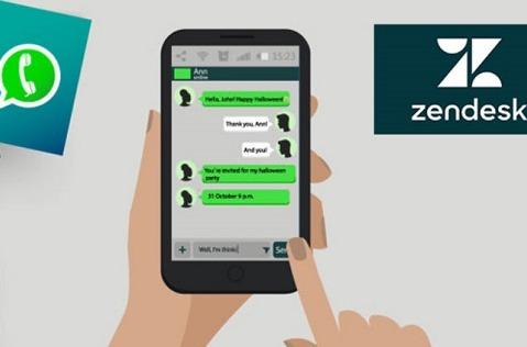 Zendesk mejora las conversaciones con WhatsApp.