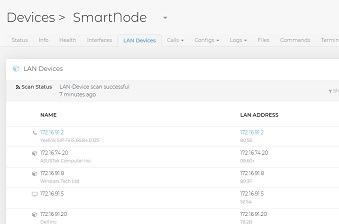 Localizador de dispositivos en red LAN.