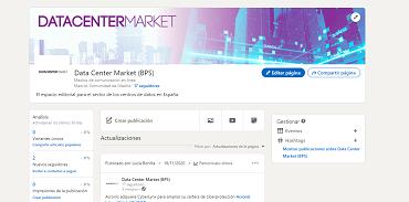 Nuevo perfil de LinkedIN de Data Center Market