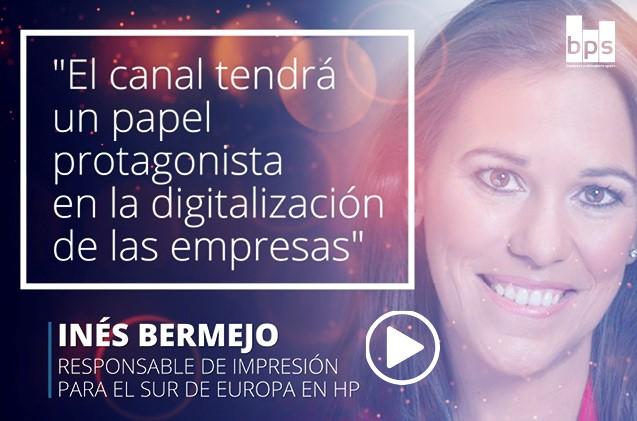 Inés Bermejo, responsable de HP Impresión para el sur de Europa