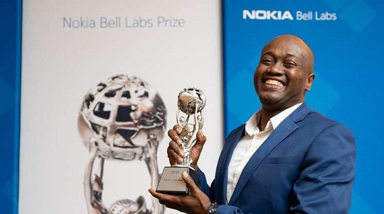 Firooz Aflatouni, profesor asociado de la Universidad de Pensilvania, ganador del Bell Labs 2020.
