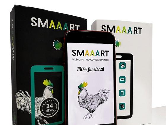 La marca de móviles reacondicionados SMAAART llega a España