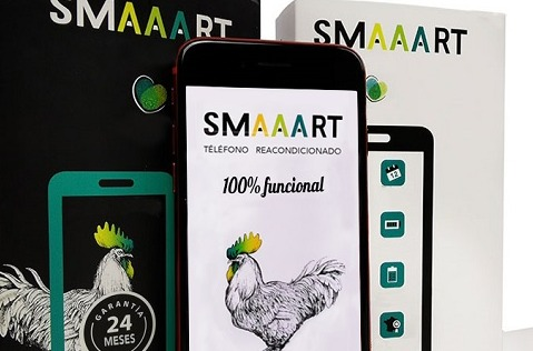 La marca de móviles reacondicionados SMAAART empieza a vender en España