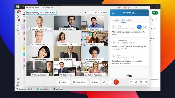 Slido, compañía especializada en interacción de audiencias.