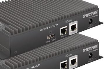 Gateway Patton AVoIP FiberPlex FPX6000R.