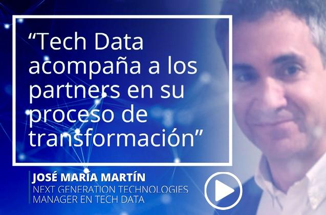 José María Martín, division partner de Tech Data
