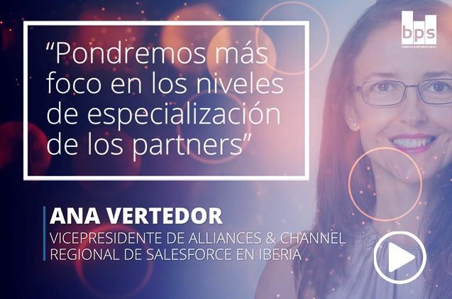 Ana Vertedor, vicepresidente de Alianzas y channel regional de Salesforce Iberia