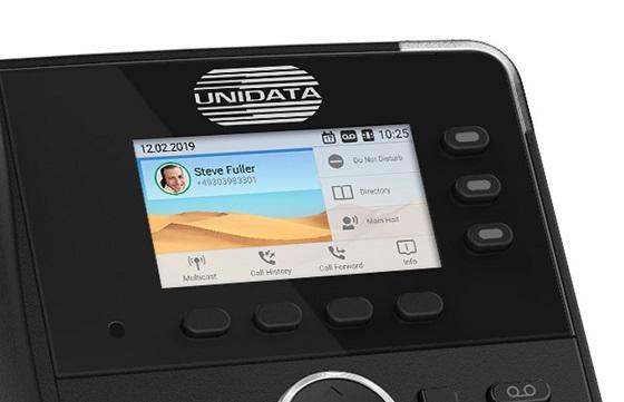 Snom permite la personalización de sus teléfonos.