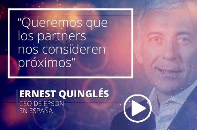 Ernest Quinglés, CEO de Epson