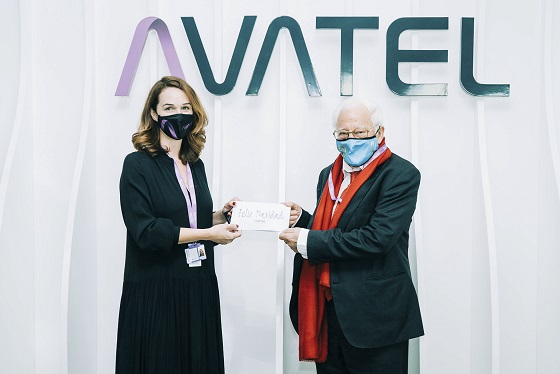 Avatel dona a Mensajeros de la Paz el importe de las cenas de empresa.