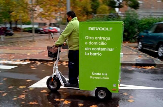 Patinete eléctrico de Revoolt.