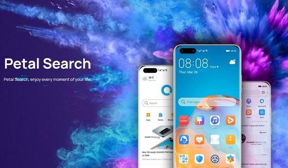 Huawei abre su buscador Petal Search a otros fabricantes.