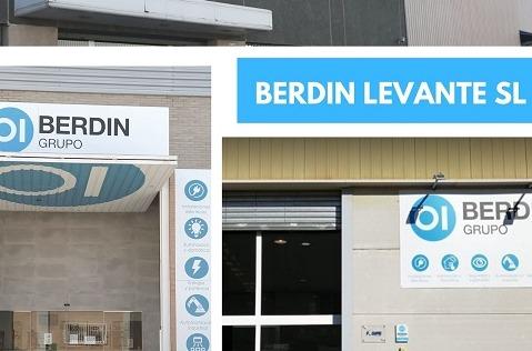Berdin reorganiza su negocio en Levante.