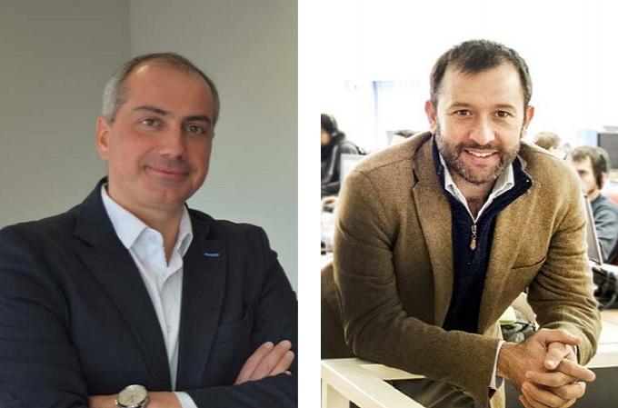 Luis Miguel Domínguez, Responsable de Genesys España y Portugal; y Víctor Fernández, CEO de Emergya.