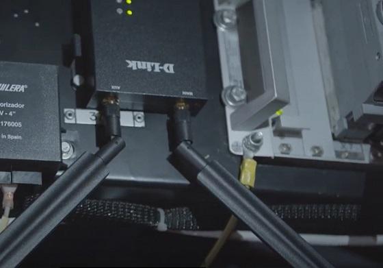 Router D-Link integrados en la plataforma CAPPACV de Dioxinet en Metrovalencia.