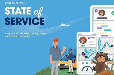 Cuarto informe State of Service de Salesforce.