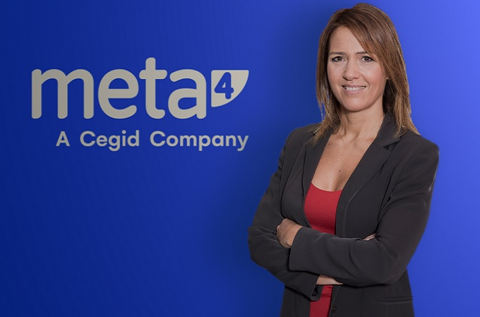 Patricia Santoni, Directora General de Meta4, A Cegid Company en Iberia