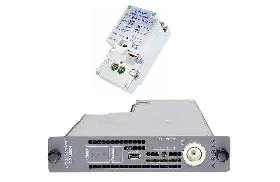 Transmisor DT4600N y receptor DR3600N: solución de CommScope de retorno digital de 204 MHz.