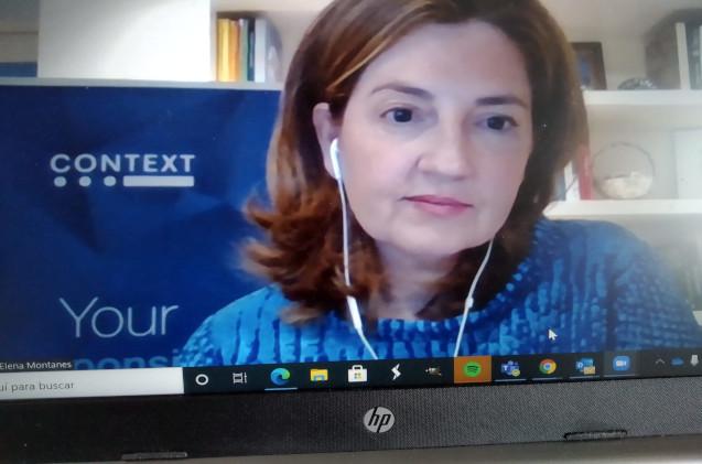 Elena Montañés, country director de Context en España