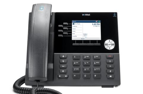 Mitel lanza teléfonos IP antimicrobios: modelo 6920t.