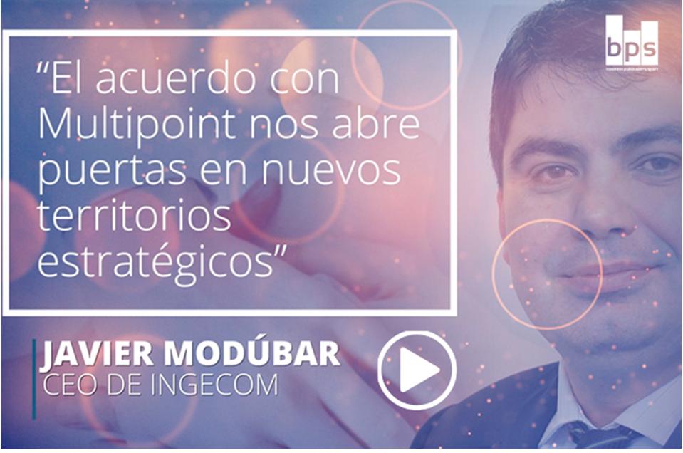 Carátula Javier Modúbar, CEO de Ingecom