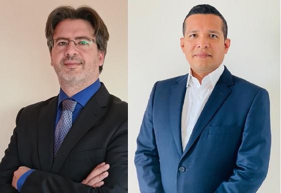 Jordi Soler, Solution Engineer, y Alexis Revatta, Regional Account Executive de Extreme Networks.
