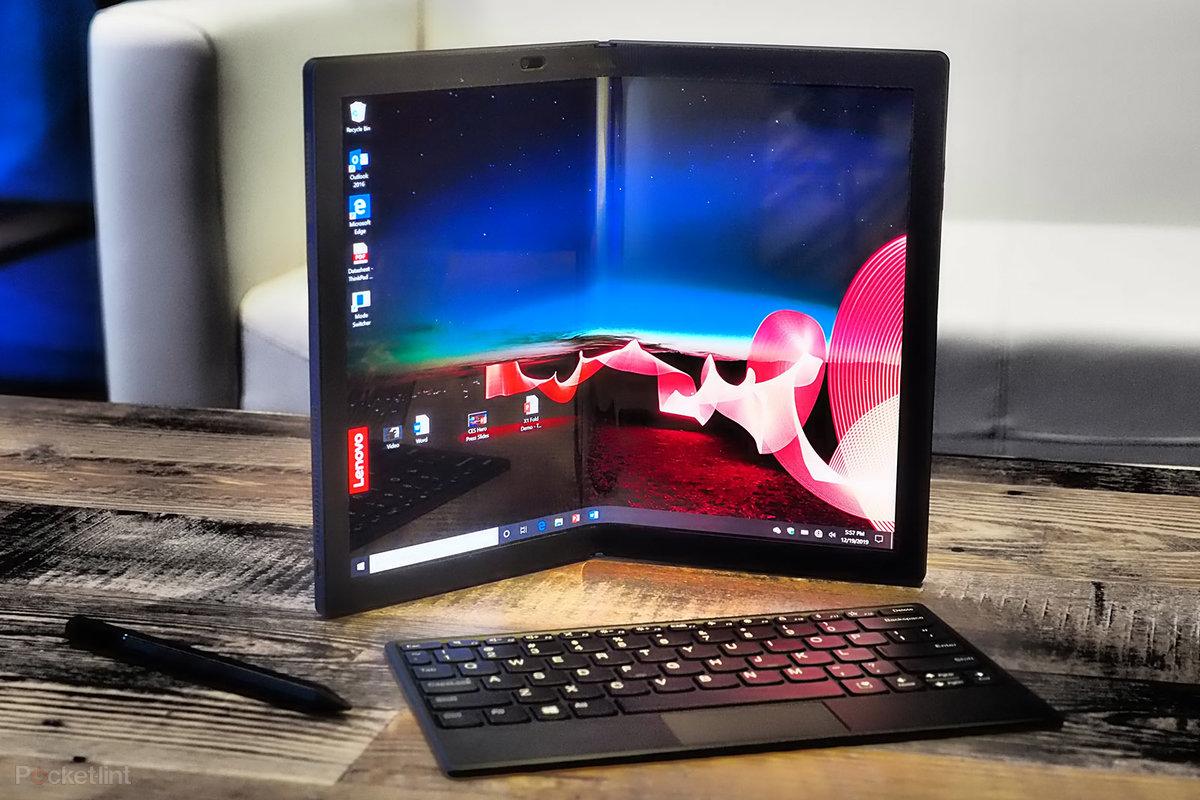 Portátil plegable Thinkpad X1 Fold.
