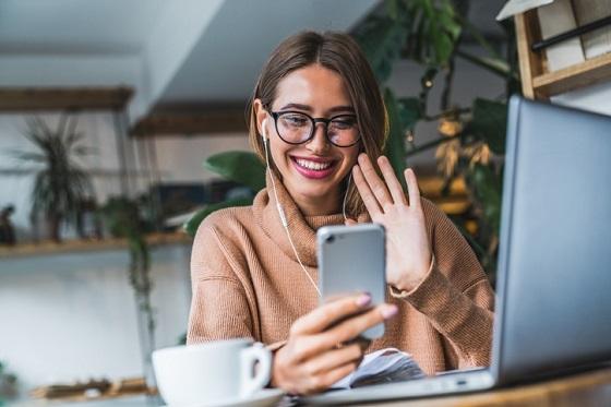 En 2020 hubo 1.800 millones de usuarios de videollamadas móviles.