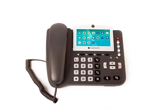 CoComm F840, uno de los recientes teléfonos fijo-móvil lanzados por la compañía.
