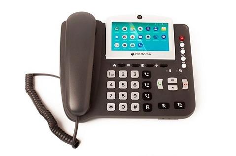 CoComm F840: teléfono fijo-móvil 4G VoLTE con Android 8.1.