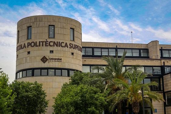Edificio Anselm Turmeda del campus de Palma de Mallorca de la UIB.