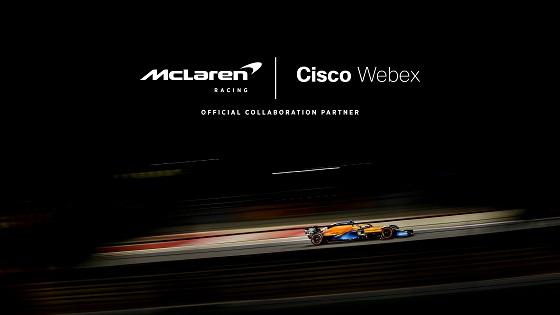 McLaren Racing selecciona a Cisco Webex como socio oficial de colaboración del equipo McLaren Formula 1.