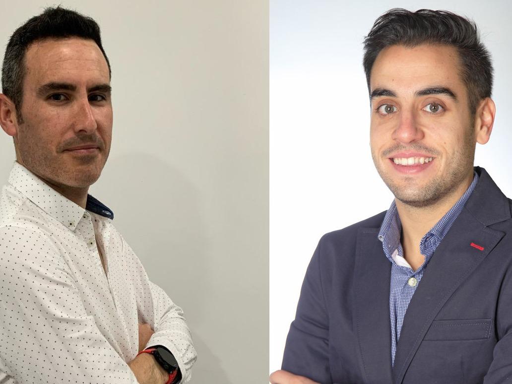 Pedro Sánchez y Mario López, de Bravent.