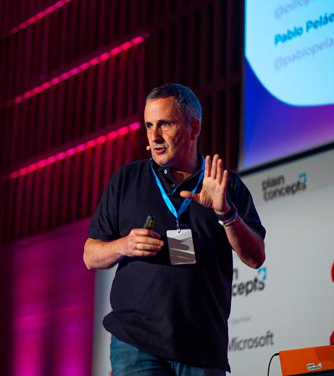 Pablo Peláez, Co-Founder & CEO en Plain Concepts.