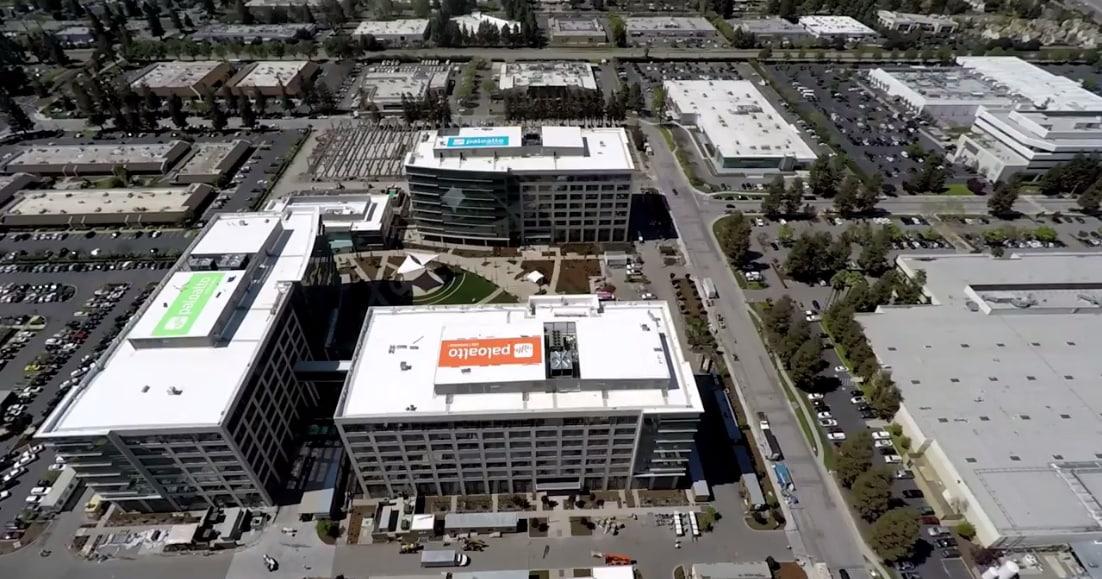 Oficinas centrales de Palo Alto Networks en California.