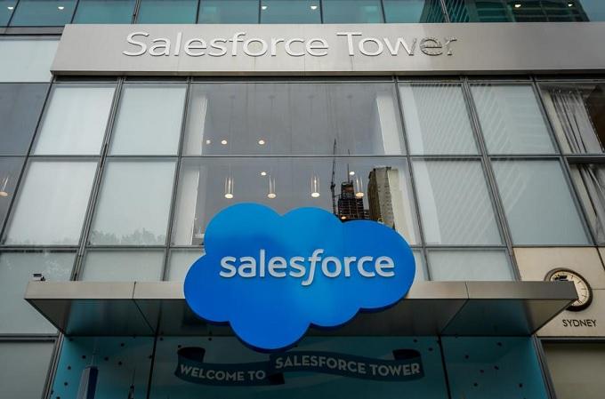 Sede corporativa de Salesforce.