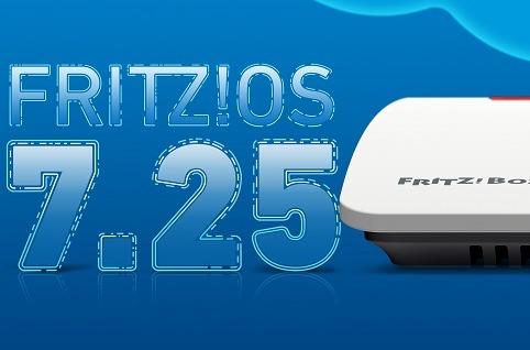 AVM presenta Fritz!OS 7.25.