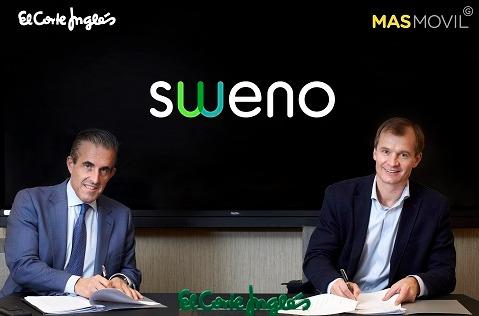 Sweno, el operador virtual de MásMóvil y El Corte Inglés