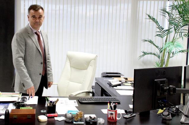 Federico Izquierdo, gerente de Megasur.