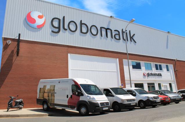 Instalaciones actuales de Globomatik en Almería.