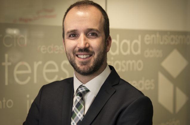 David Benito, director de canal de Commvault.