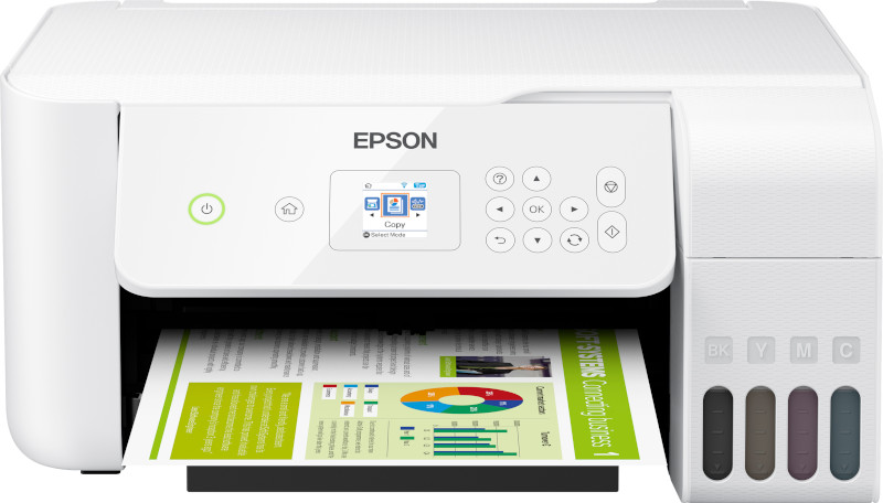 Impresora de Epson con tecnología EcoTank.