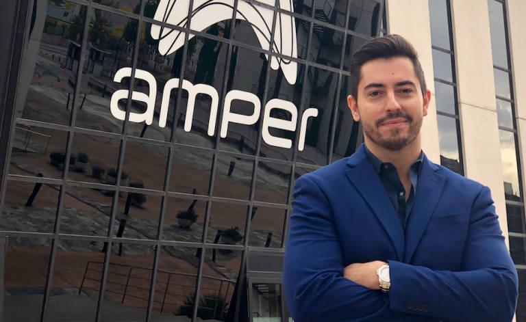 César Revenga Buigues, nuevo director general del Grupo Amper.