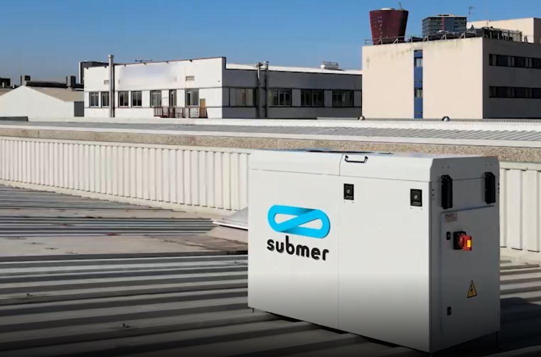 Equipo de refrigeración de Submer.