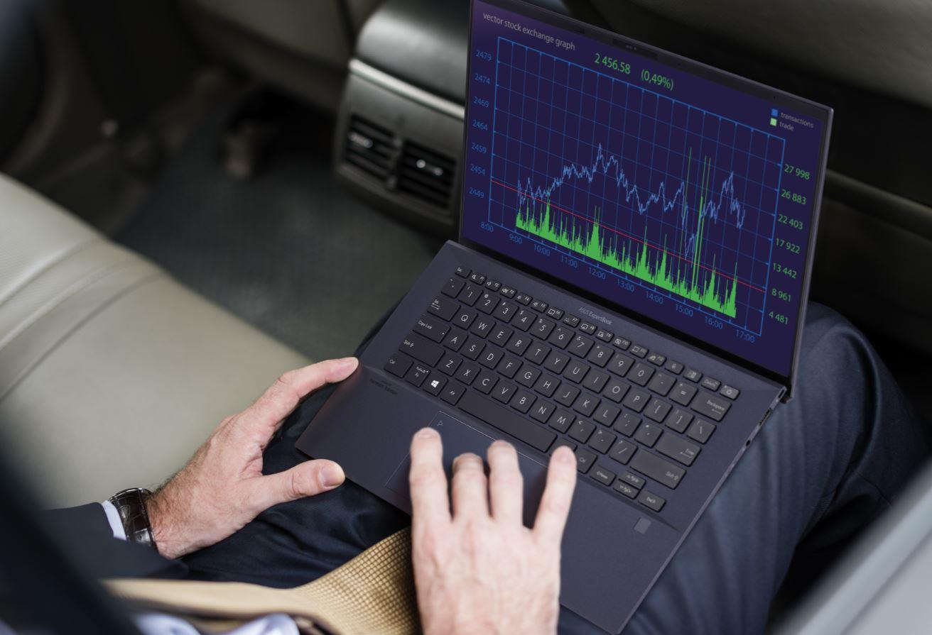 Portátil ExpertBook B9 de Asus.