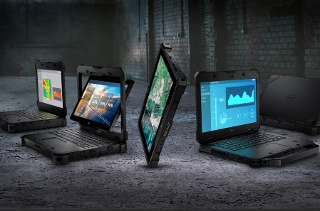 Portátiles Dell Latitude Rugged.
